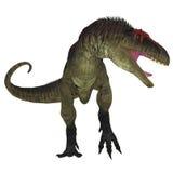 Tyrannotitan掠食性动物 库存照片