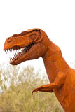 Tyrannus Saurus Rex dinosaur sculpture Royalty Free Stock Images