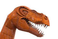 Tyrannus Saurus Rex dinosaur sculpture Royalty Free Stock Photo