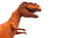 Tyrannus Saurus Rex dinosaur sculpture Royalty Free Stock Photos
