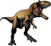 Tyranosaurus rex isolated Stock Image