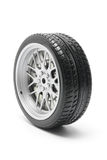 Tyre. On Isolated White Background Stock Photo