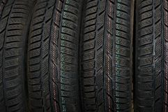 Tyre. The construction of the winter tires Royalty Free Stock Images