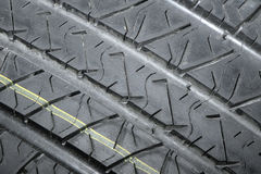 Tyre. Profile stock photography