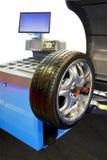 Tyre balancing Royalty Free Stock Image