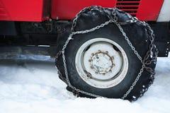 Tyre chain Stock Photos