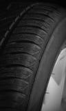 Tyre closeup Stock Photography