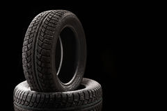 Tyre covers Stock Photo