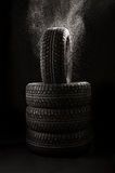 Tyre covers Stock Images