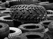 Tyre covers  car Stock Image