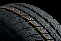 Tyre deatil Stock Photos
