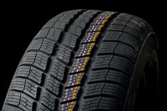 Tyre deatil Stock Photo