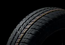 Tyre deatil Royalty Free Stock Photo