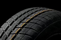 Tyre deatil Royalty Free Stock Photos