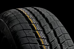 Tyre deatil Stock Images