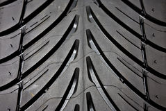 Tyre detail Stock Image
