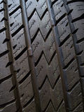 Tyre detail Stock Images