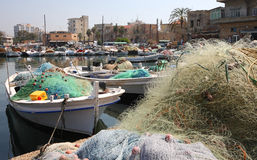 Tyre Harbor, Lebanon royalty free stock image