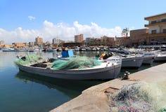 Tyre harbor , Lebanon Royalty Free Stock Photo