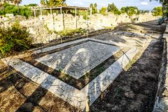 Tyre Hippodrome and Necropolis 04 stock image