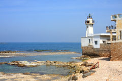 Tyre Lighthouse, Lebanon Royalty Free Stock Photo