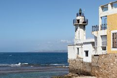 Tyre Lighthouse, Lebanon Royalty Free Stock Images