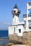 Tyre Lighthouse, Lebanon royalty free stock photography