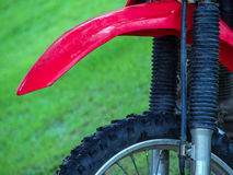 Tyre of motocross Royalty Free Stock Images
