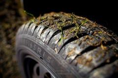 Tyre profile Stock Photos
