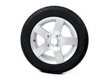 Tyre and rim Royalty Free Stock Photography