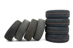 Tyre sets Royalty Free Stock Photography