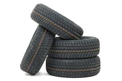Tyre sets Stock Photo