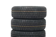 Tyre sets Stock Image