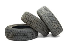 Tyre sets Royalty Free Stock Photo