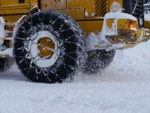 Tyre snow chain Stock Images