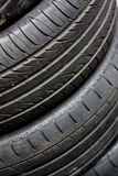 Tyre Stack Royalty Free Stock Photography