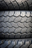 Tyre Stack Royalty Free Stock Image