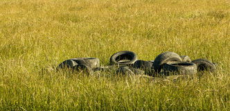 Tyre Stack Royalty Free Stock Photo