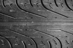 Tyre texture. Texture surface or pattern of black tyre as background Royalty Free Stock Image
