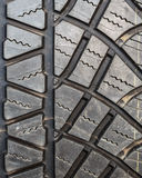 Tyre Texture, Background, Closeup. Tyre Texture Closeup showing detail of textures Royalty Free Stock Photos