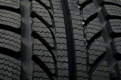 Tyre texture Stock Image