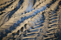 Tyre Tracks Stock Photos