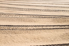 Tyre tracks background Royalty Free Stock Photography