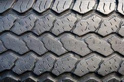 Tyre Tread. Tread patterns on old worn car tires Stock Photos