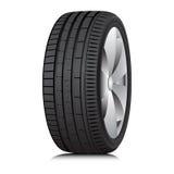 Tyre. Wheel. Vector. Stock Image