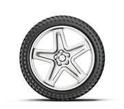 Tyre wheel Royalty Free Stock Photo