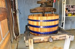 Tyrell wytwórnia win, Australia zdjęcie stock