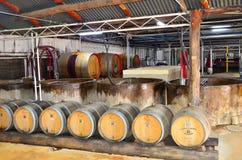Tyrell wytwórnia win, Australia zdjęcia stock