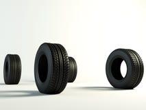 Tyres 4 stock image