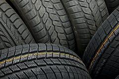 Tyres closeup Stock Photography